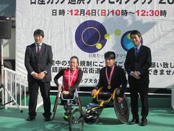 日産カップチャンピョンシップ 車椅子ハーフマラソン開催